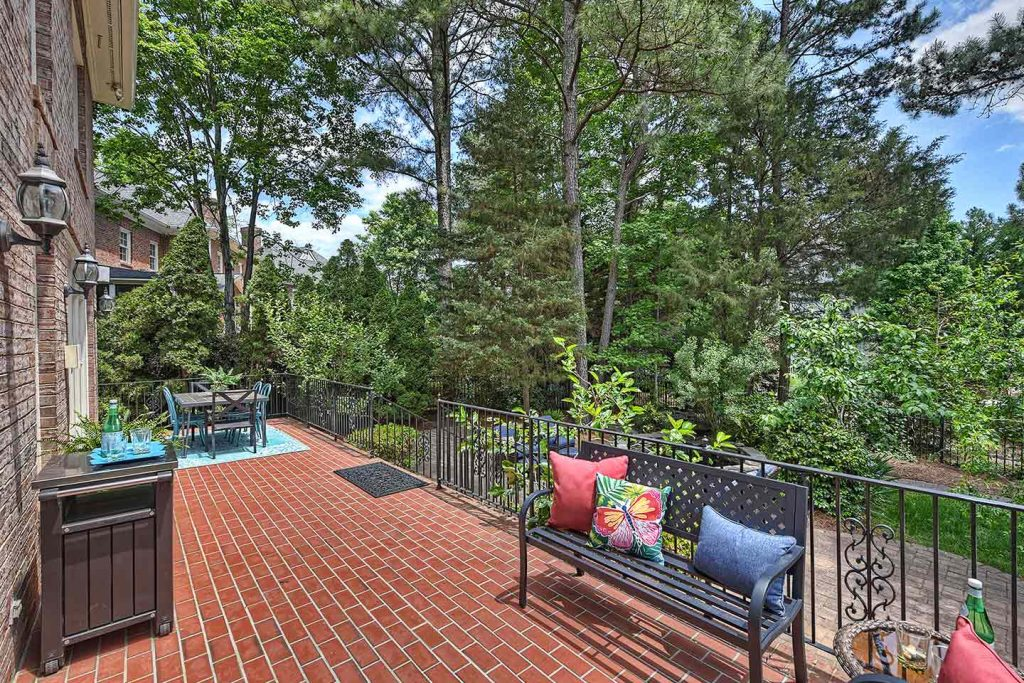 Staging Strickland Court Patio Right