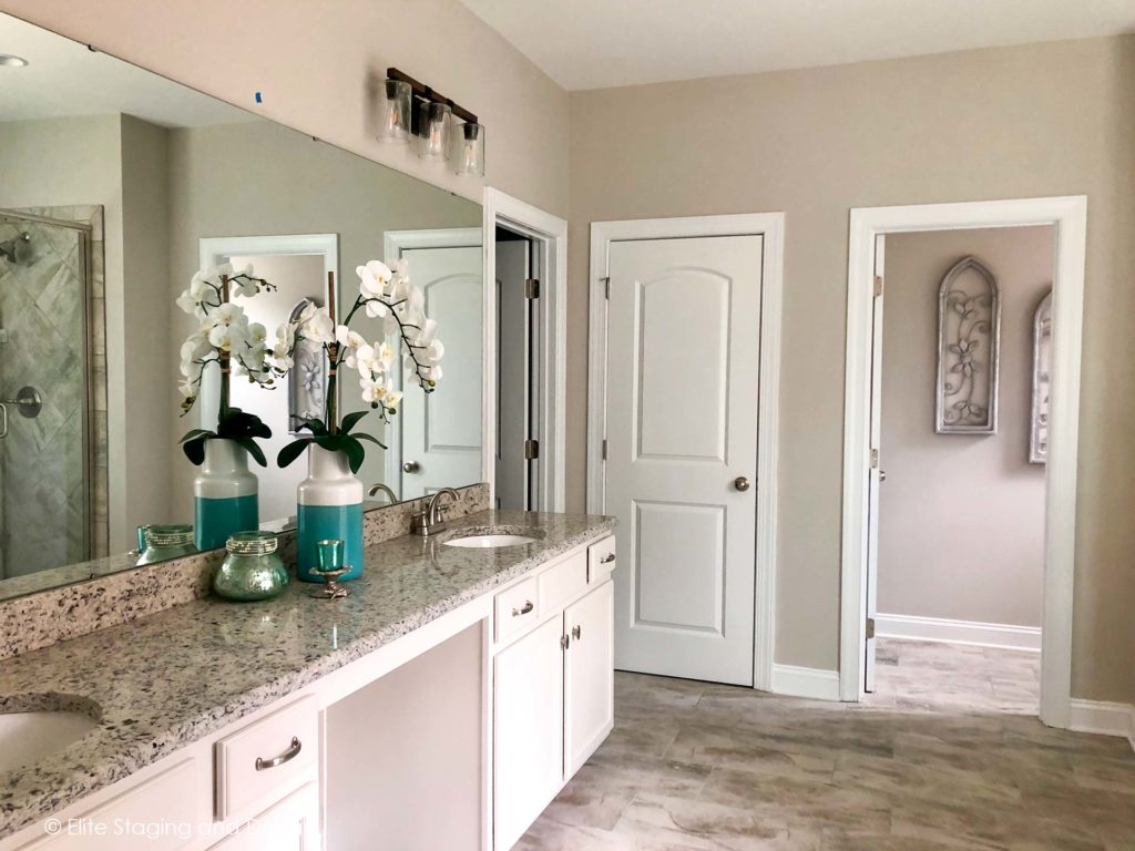 Elite Staging and Design Portfolio Bathrooms