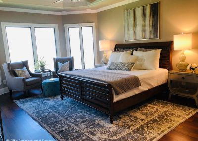 Elite Staging and Design Portfolio Master Bedroom Staging